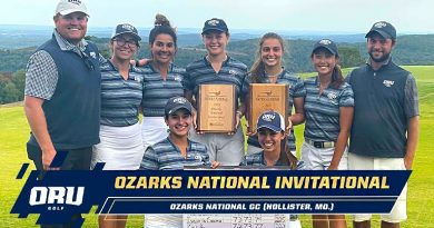 Bell smashes own records as ORU wins Ozarks National Invitational